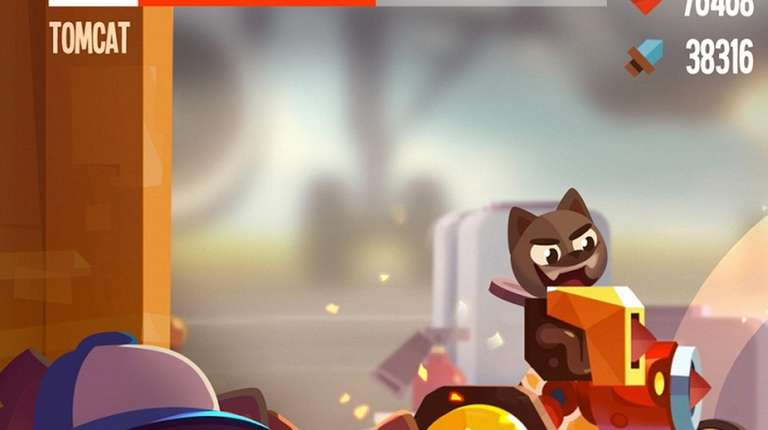 Chosen top Android game of the year, CATS