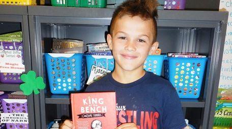 Kidsday reporter Thomas Aiello with