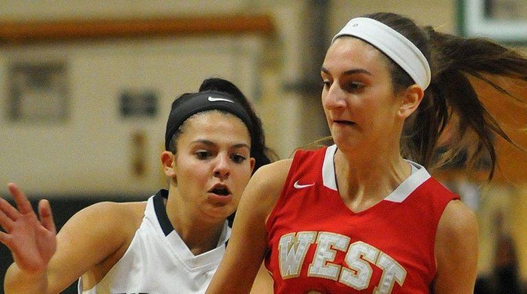 Samantha Hinke scored 41 points in a win