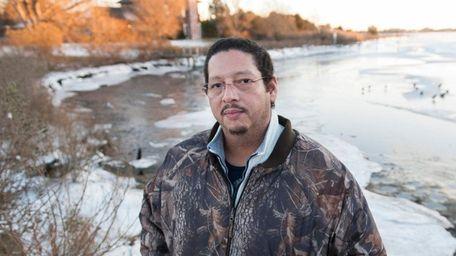 David Taobi Silva, a former Shinnecock Indian tribal