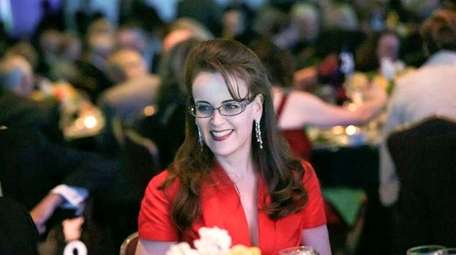 Conservative donor Rebekah Mercer attends the Media Research