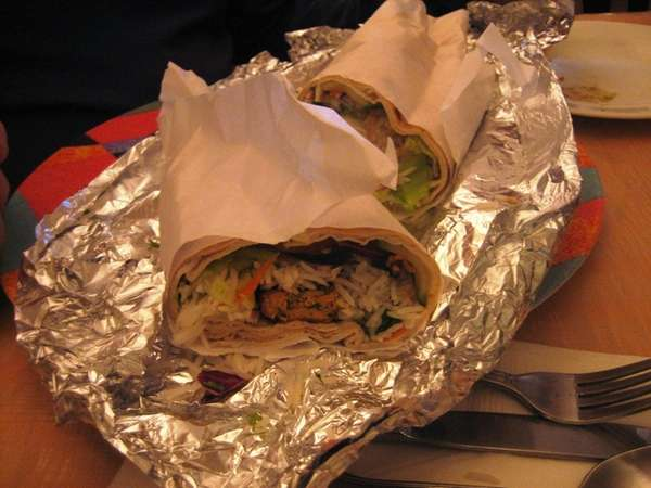 Naanwich is one of the specialties at Kabul