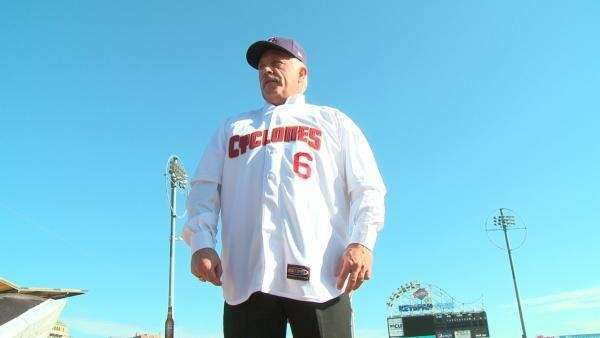 Wally Backman is introduced Nov. 17 as the