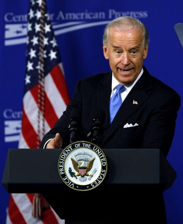 Vice President Joe Biden's motorcade was involved in