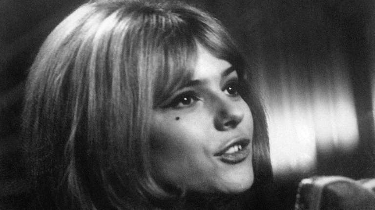 French singer France Gall performs on the Eurovision