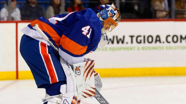 brand new cd51a 6aba7 Jaroslav Halak 'pretty tired' after 42-save effort in ...