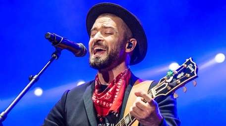 Justin Timberlake performs at the Pilgrimage Music and