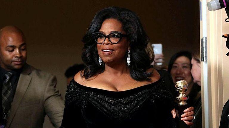 b75a13f7522 Oprah s Golden Globes speech prompts calls for presidential run ...