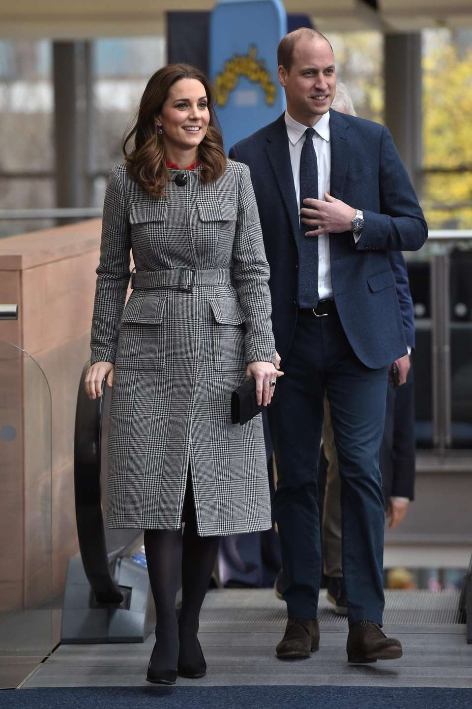 Kate and Prince William attend the Children's Global