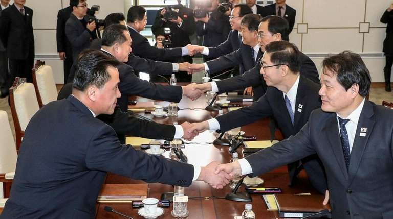 Seoul proposes January 15 talks on North Korea's attendance in PyeongChang