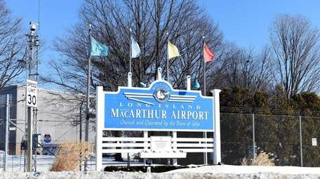 Officials at MacArthur Airport in Ronkonkoma say the