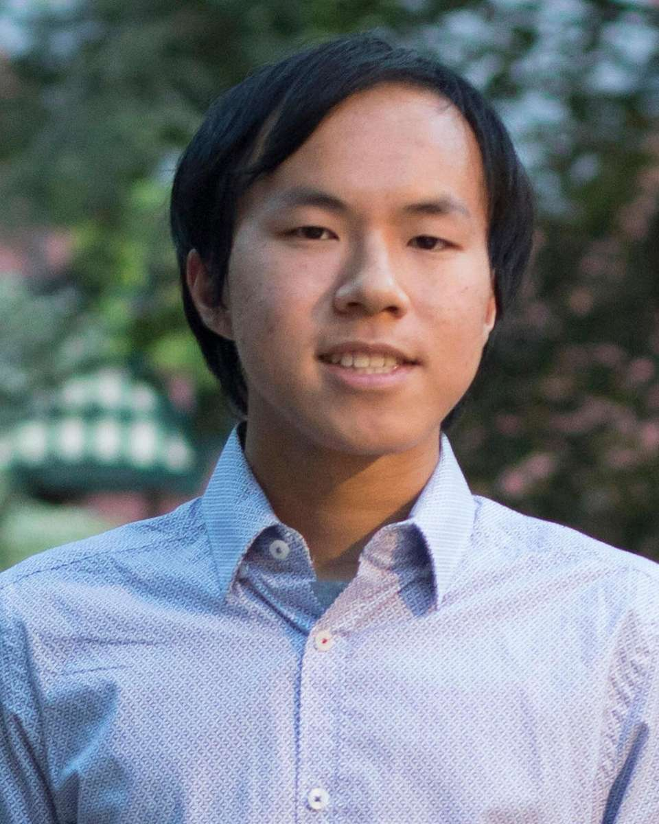 Bradford Lin of the Lawrenceville School is among