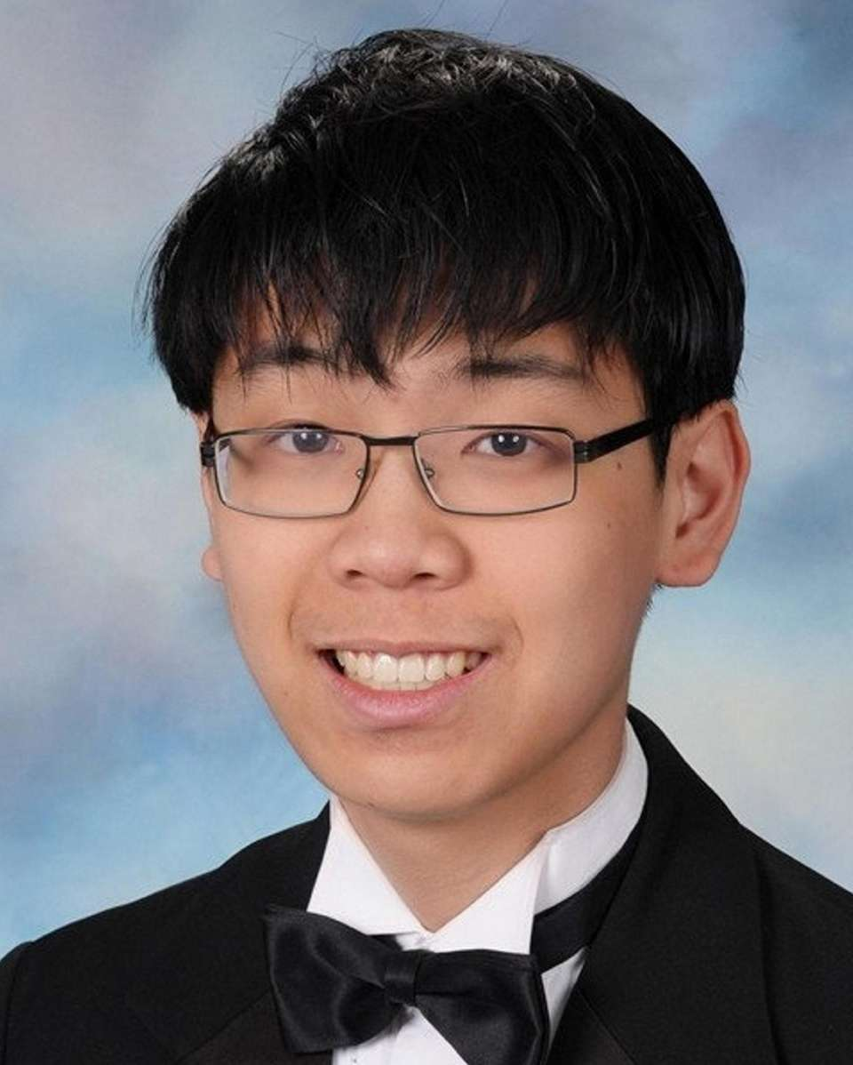 Daniel Lee of Commack High School is among