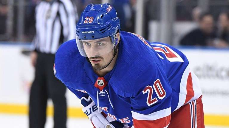 Rangers' Kreider has portion of rib removed