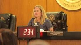 At the first Hempstead Town Board meeting of