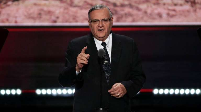 'Deport them': Arpaio departs from Trump on DACA recipients
