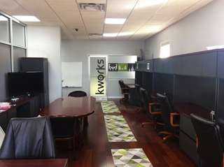 Kworks in Farmingdale offers parents work spaces and