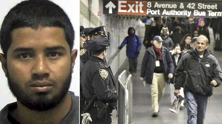 Akayed Ullah is accused of leaving a pipe