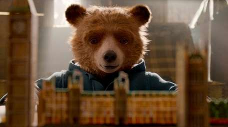 The cuddly bear (voiced by Ben Whishaw) returns