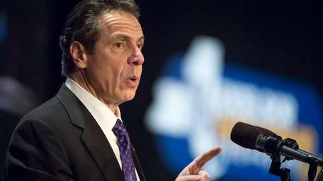 Gov. Andrew M. Cuomo touched on ethics reform