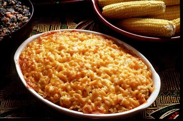 Recipe for macaroni and cheese.