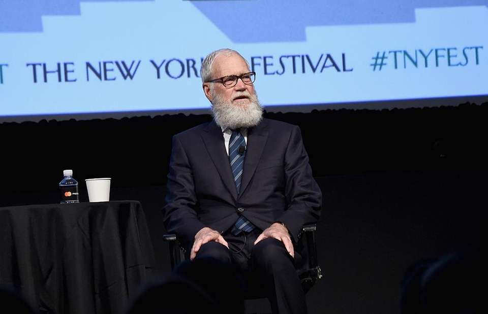David Letterman speaks at The New Yorker Festival
