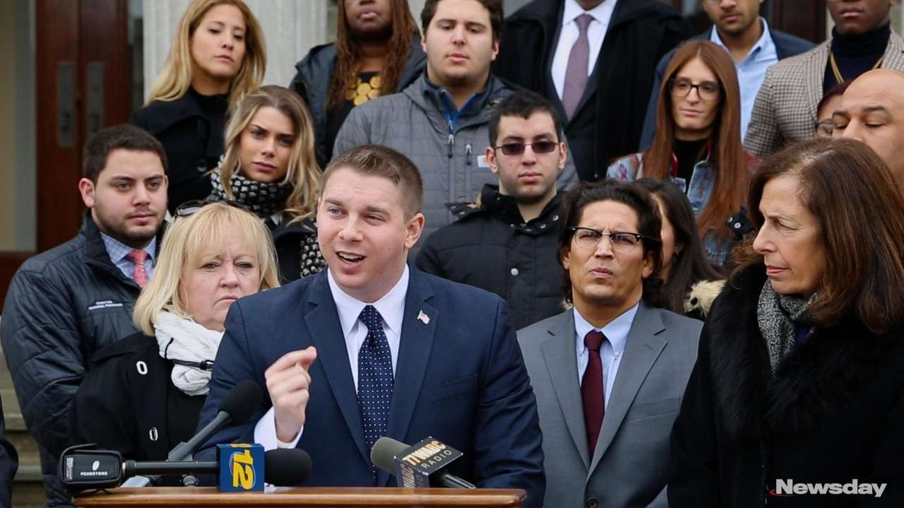 Nassau County Legis. Joshua Lafazan, on Thursday, Jan.