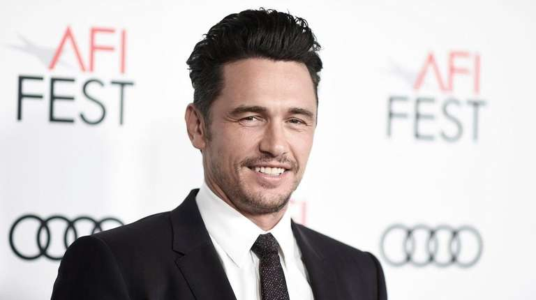 James Franco attends the gala presentation of