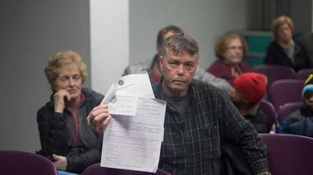William Scully, of Island Park, has filed a