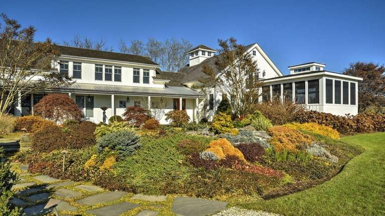 The 2.26-acre Cutchogue home, designed by garden designer