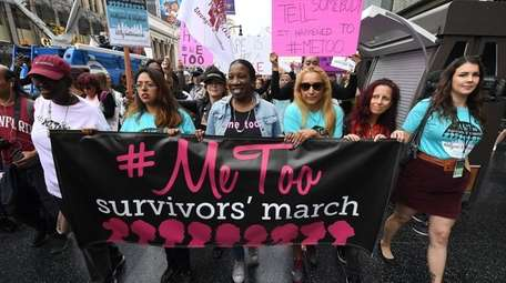 Women who are survivors of sexual harassment, sexual