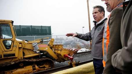 Gov. Andrew M. Cuomo on Friday, Jan. 12,