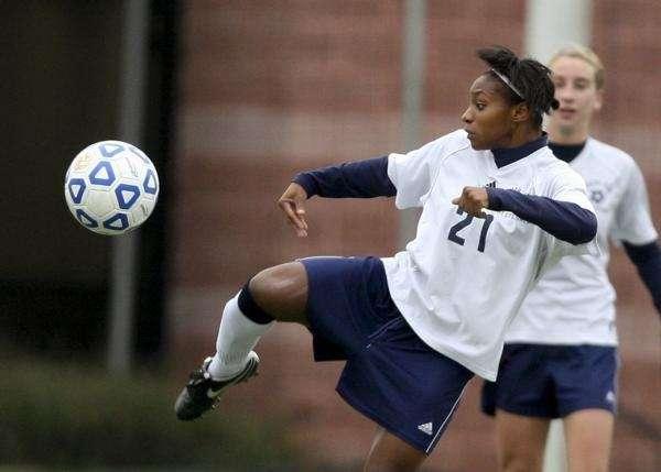 Crystal Dunn of South Side takes a shot
