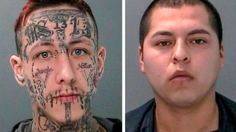 Jeremy Jones, 27, left, and Jose Molina, 20,
