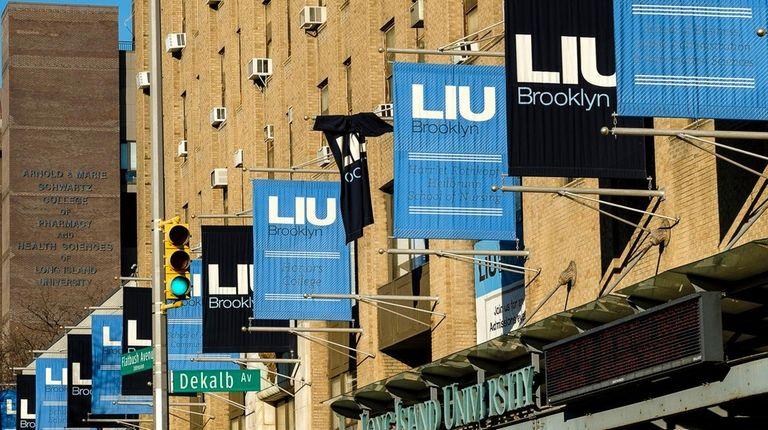 The LIU Brooklyn campus on Wednesday, Jan. 10,