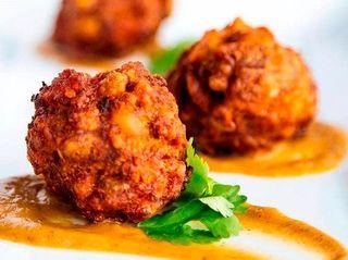 Mofongo bites at Coastal Kitchen & Daiquiri Bar,