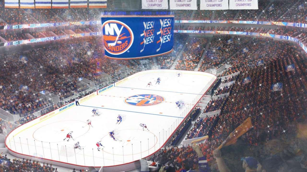 Analysis Islanders Belmont Arena Would Take About 3