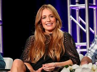 Television personality Cat Deeley attends A+E Networks' 2018
