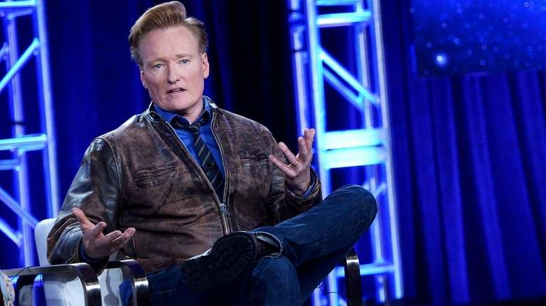 Conan O'Brien tweeted Sunday, Jan. 14, 2018, that