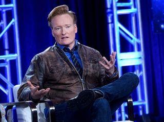 Conan O'Brien tweeted Sunday, Jan. 14, 2018, that