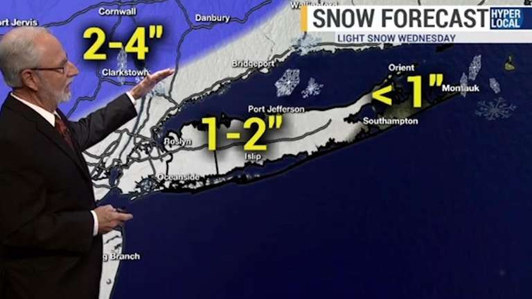 Long Islanders will want to monitor conditions for