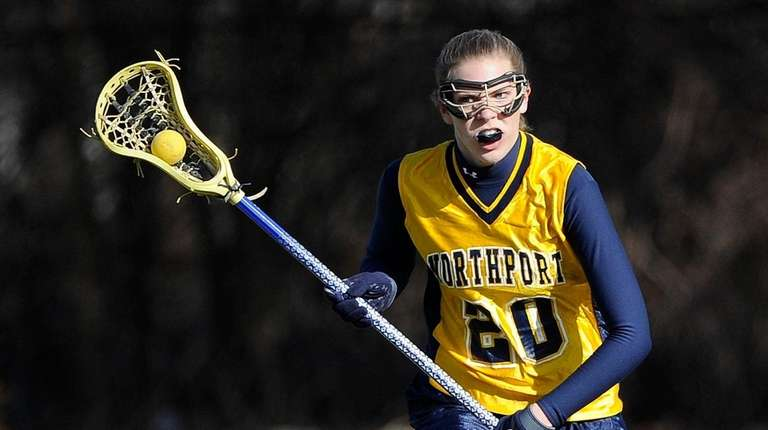 Julia Sarcona, who played lacrosse at the University