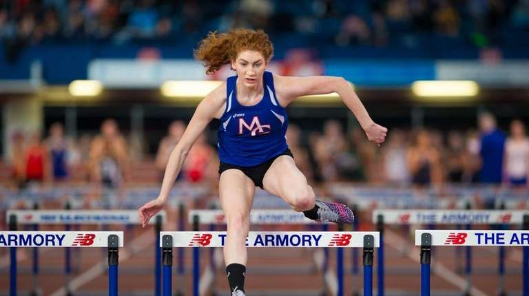 Centereach High School athlete Lexi Roth competes at