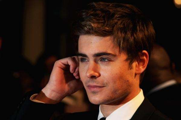 Actor Zac Efron arrives at the UK film