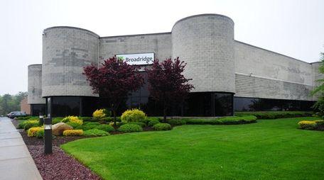 Broadridge Financial Solutions headquarters in Edgewood, on May