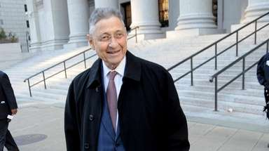Former State Assembly Speaker Sheldon Silver.