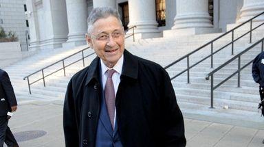 Former State Assembly Speaker Sheldon Silver.