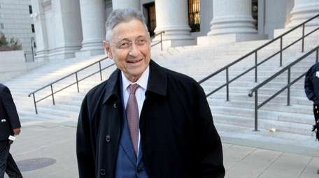 Former State Assembly Speaker Sheldon Silver on Nov.