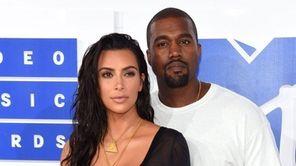 Kim Kardashian West and Kayne West attend the