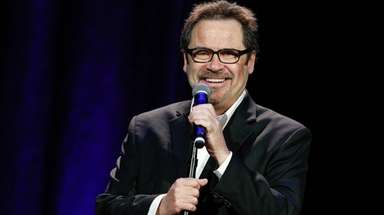 Dennis Miller brings his edgy comedy to Westbury.